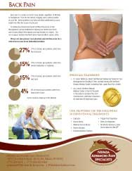 Back Pain Brochure