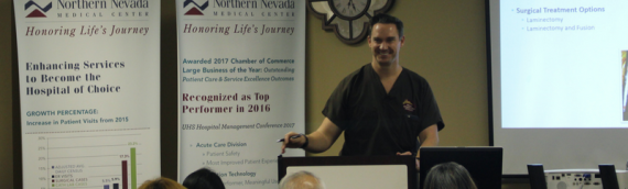 Dr. Patterson and Dr. Nairizi are the First Physicians in Nevada trained in Treatment for LSS